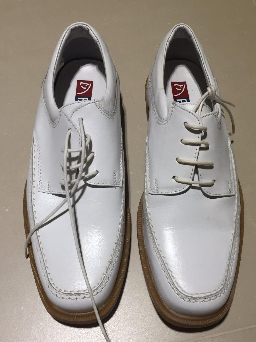178d7b4b1 Sapato Fascar Couro Branco, 39, Masc.excelente! - R$ 70,00 em ...