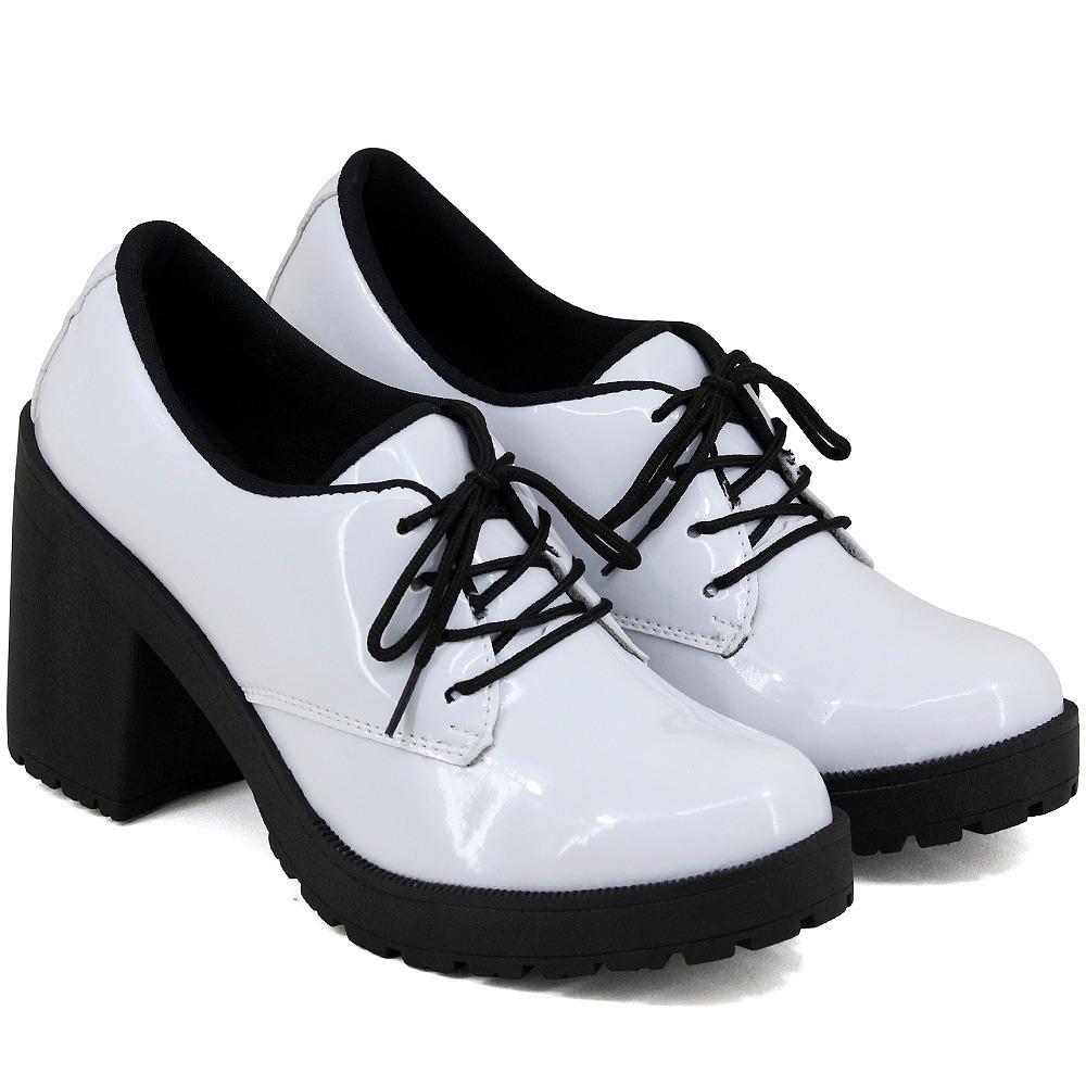 7d3e881629 sapato feminina com cadarço super na moda salto alto. Carregando zoom.