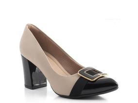 119ba6cec Scarpin Piccadilly Nude - Sapatos com o Melhores Preços no Mercado Livre  Brasil