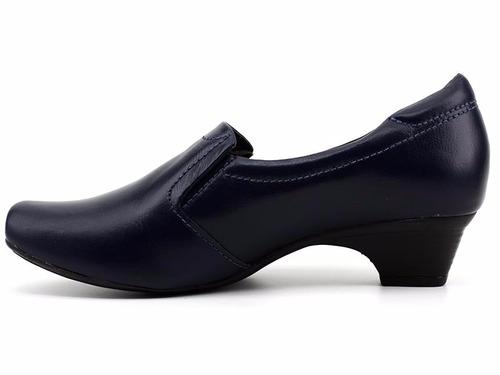 sapato feminino 100% couro neftali 4077 loja pixolé
