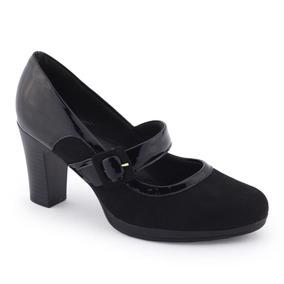 a7a119016 Sapato Salto Alto Estilo Boneca Feminino - Sapatos Preto no Mercado ...
