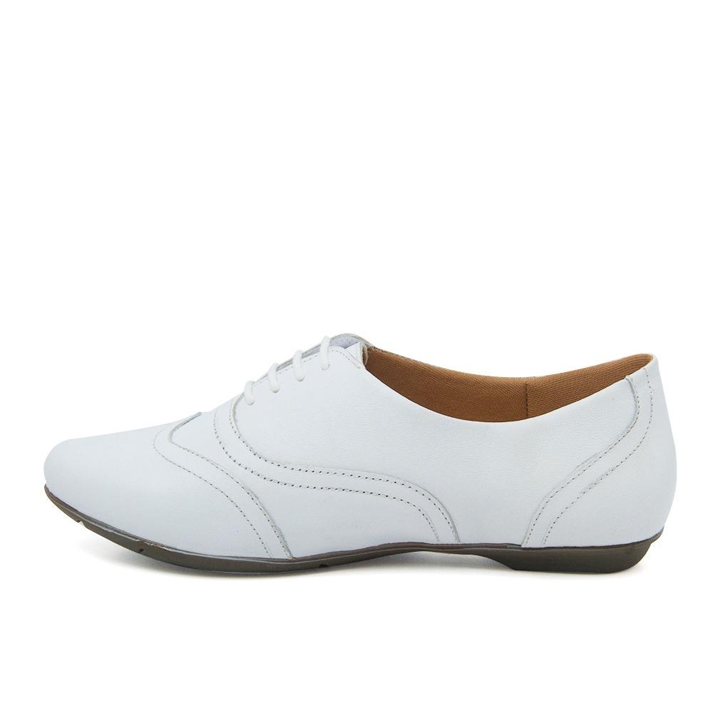 d383230af5 sapato feminino 1307 em couro branco doctor shoes. Carregando zoom.