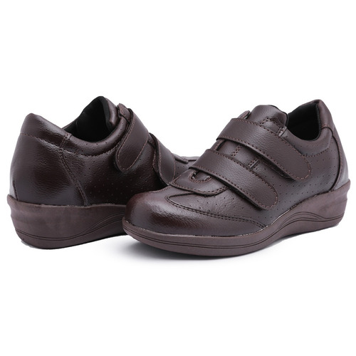 cb785c3420a sapato tênis feminino anabela p idosas - preço baixo oferta. Carregando  zoom... sapato feminino anabela