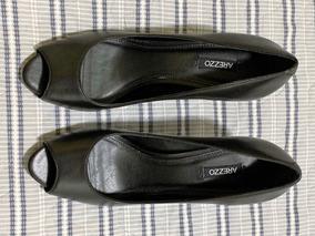 213f2d99a Sapato Scarpin Arezzo 36 Preto Clássico - Sapatos com o Melhores ...