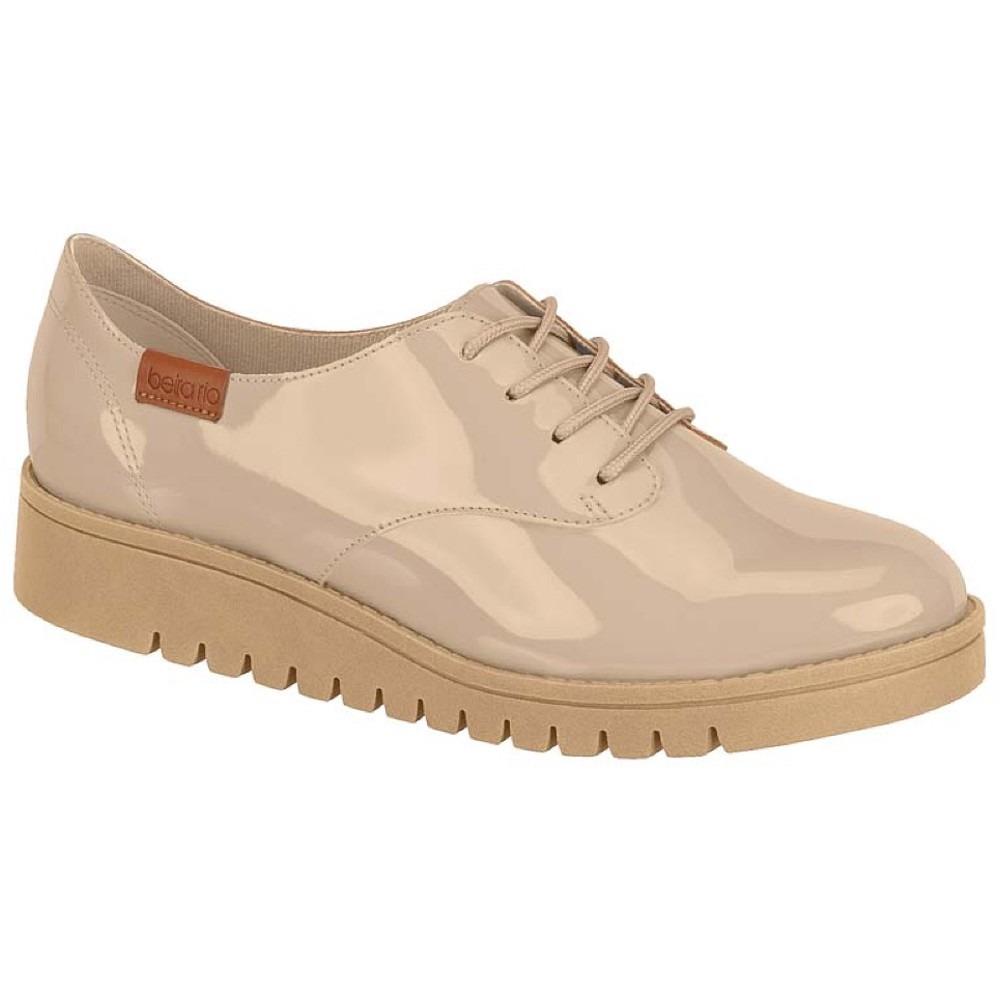 bb70ccb64 Sapato Feminino Bege Beira Rio - Frete Grátis - R$ 127,00 em Mercado ...