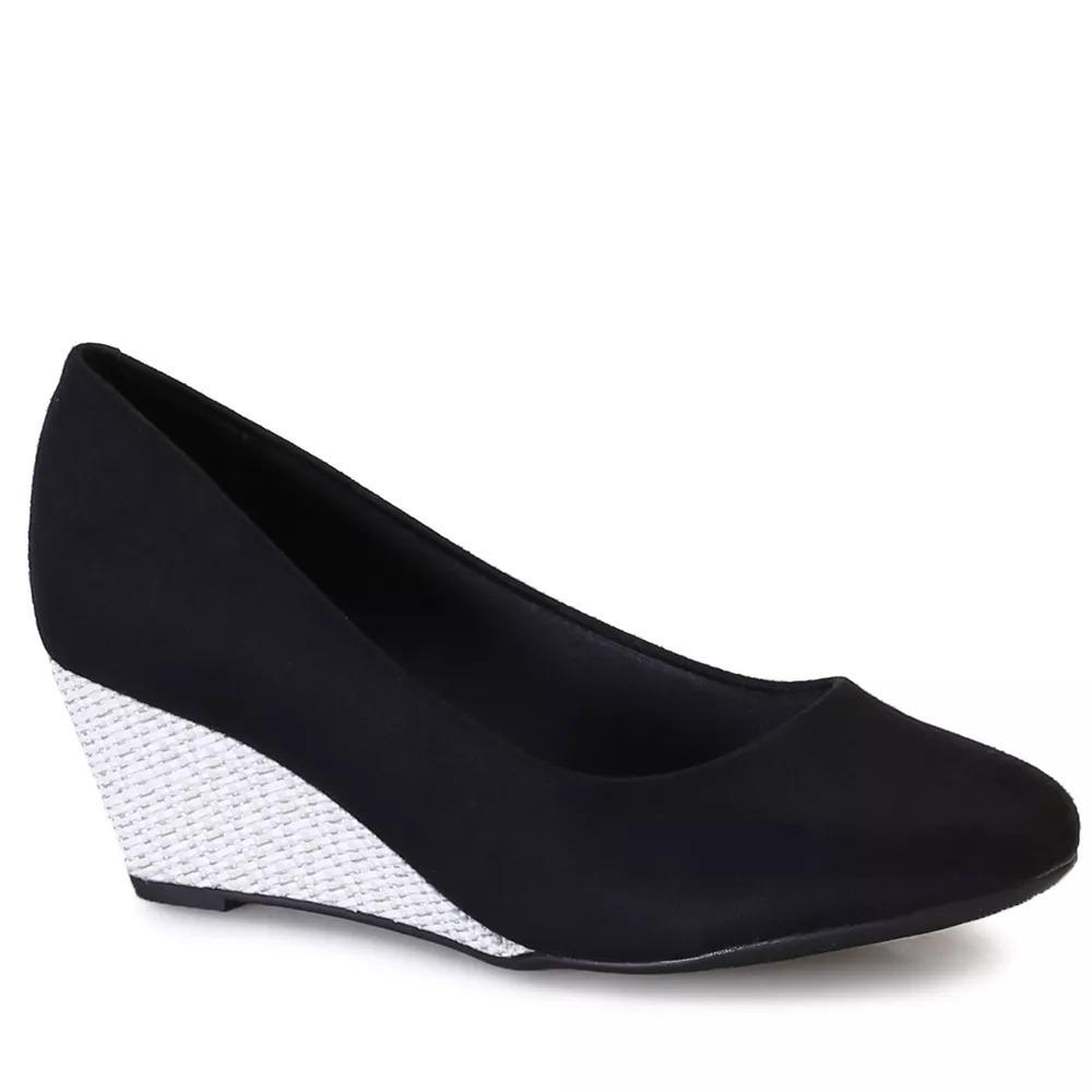 60c89f1e5b sapato feminino beira rio anabela 4791200 original. Carregando zoom.