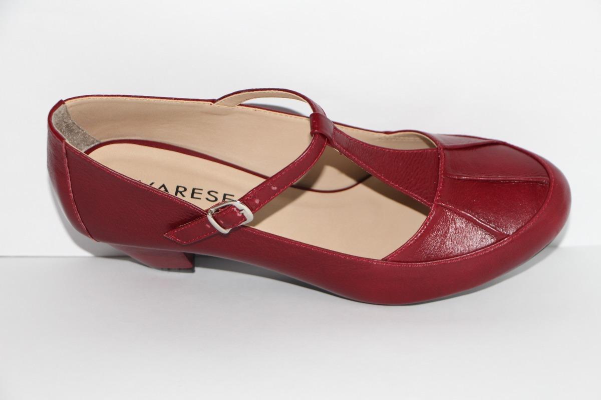 b0f8e4b9f sapato feminino boneca dança de salão 5cm couro legítimo r6. Carregando zoom .
