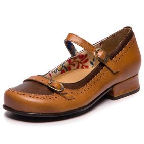 93698a12e Sapato Boneca Mary Jane - Sapatos no Mercado Livre Brasil