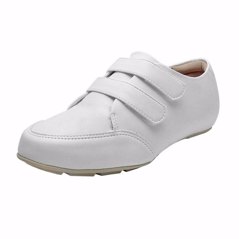 12281bef9 sapato feminino branco fechado enfermagem modare conforto. Carregando zoom.