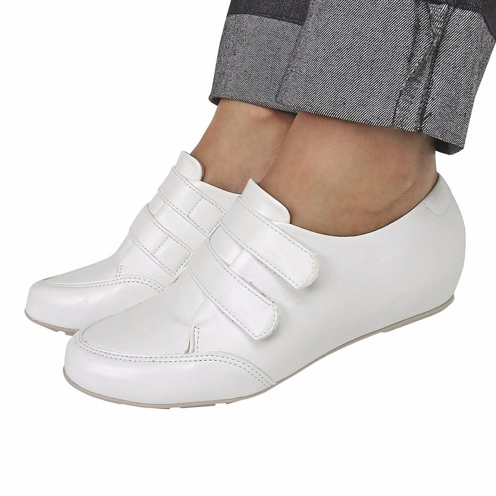 383ca3e98 sapato feminino branco fechado enfermagem modare conforto. Carregando zoom.