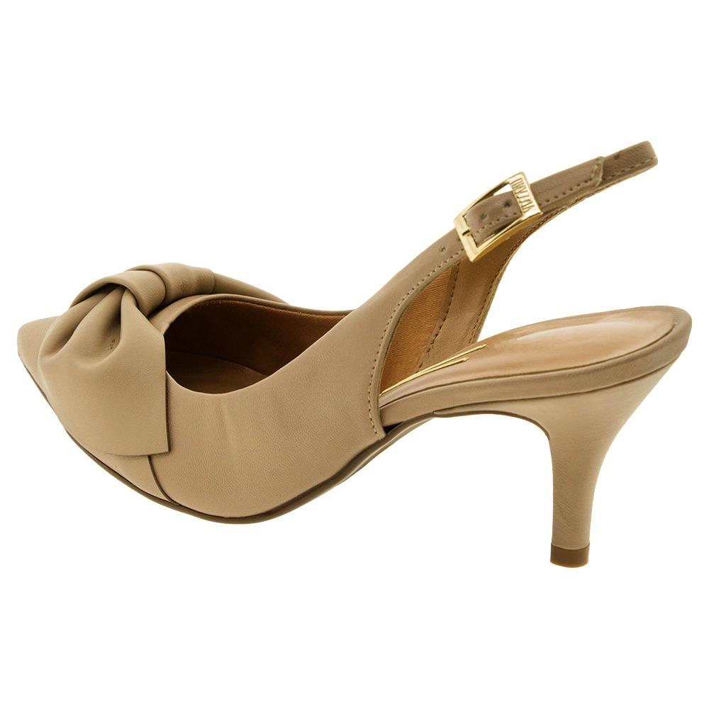 eb9528b891 sapato feminino chanel bege vizzano - 1185152. Carregando zoom.