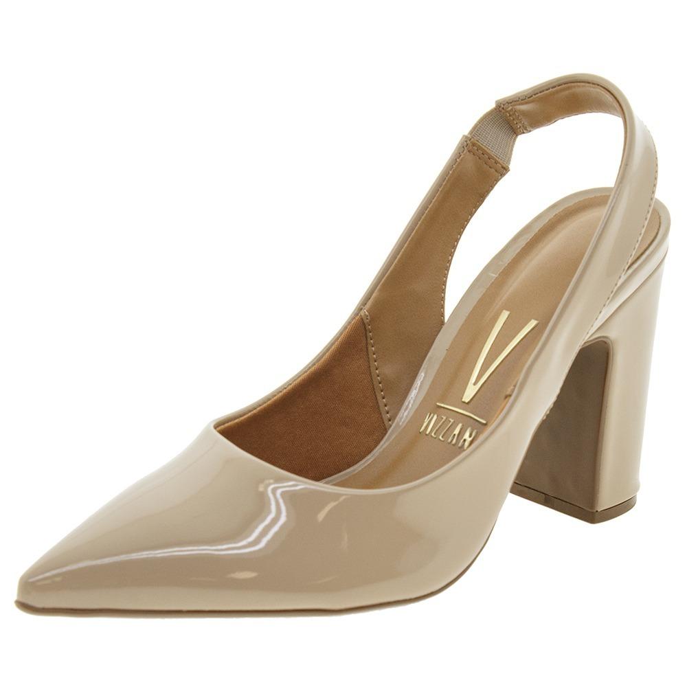 53f5ea2835 sapato feminino chanel bege vizzano - 1285103. Carregando zoom.