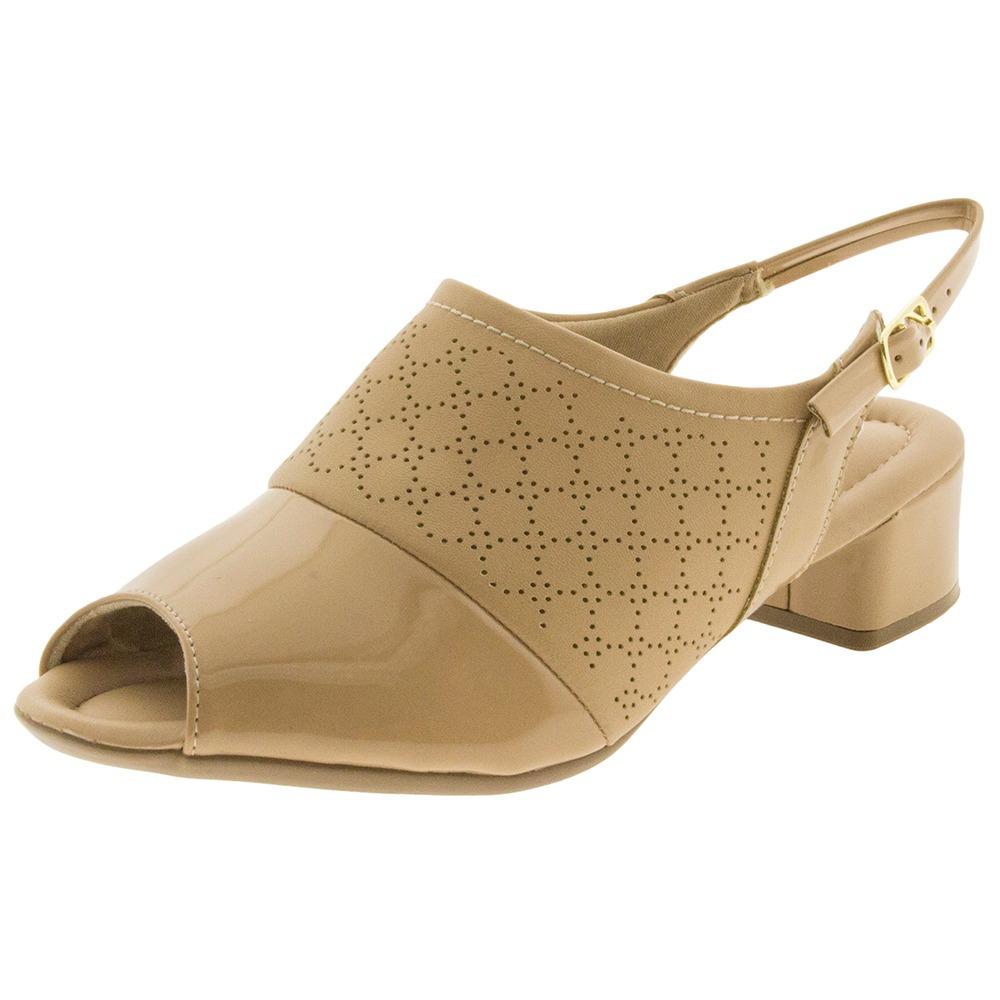 11480992ff sapato feminino chanel salto baixo nude piccadilly - 166013. Carregando  zoom.