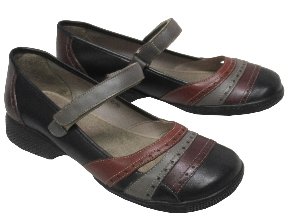fac4c3949 Sapato Feminino Confortável Jgean Ai0240 Couro - R$ 264,90 em ...