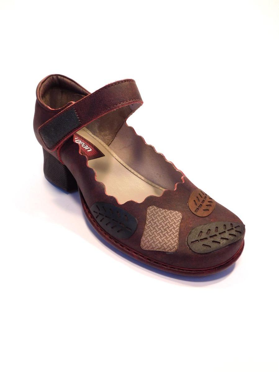 83ea97faa Sapato Feminino Couro Retrô J. Gean - Ref Ck0095 - R$ 249,90 em ...
