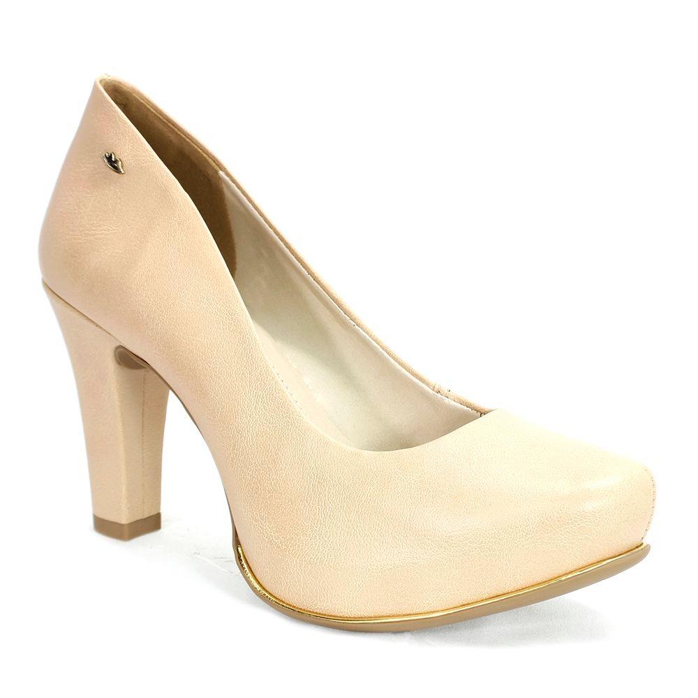 a9e7f6107 Sapato Feminino Garland Dakota Aveia - R$ 169,90 em Mercado Livre