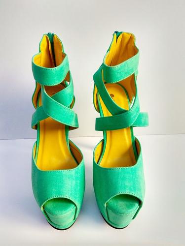 sapato feminino importado salto alto