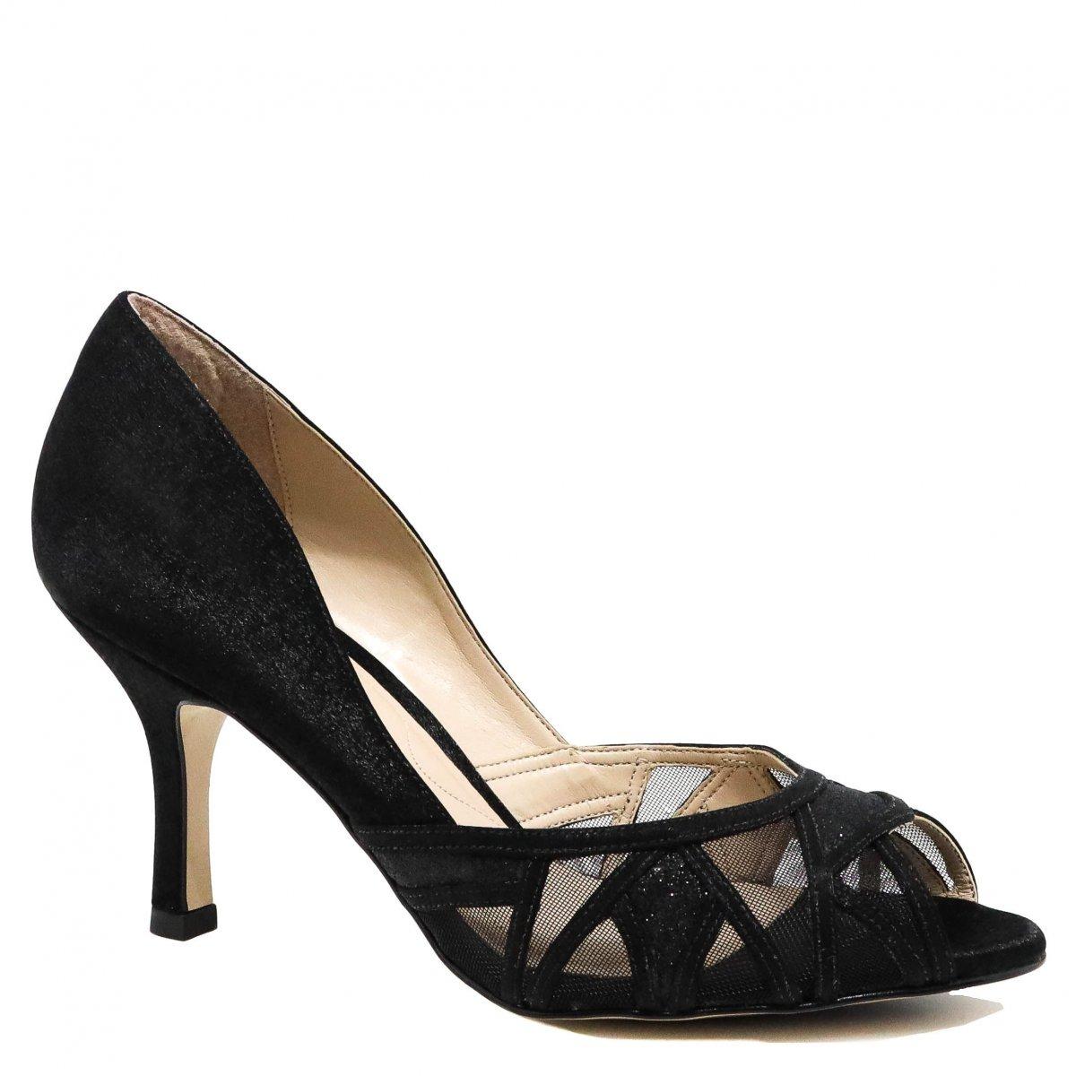 e2e8672d5b sapato feminino laura porto peep toe salto fino preto rl7551. Carregando  zoom.