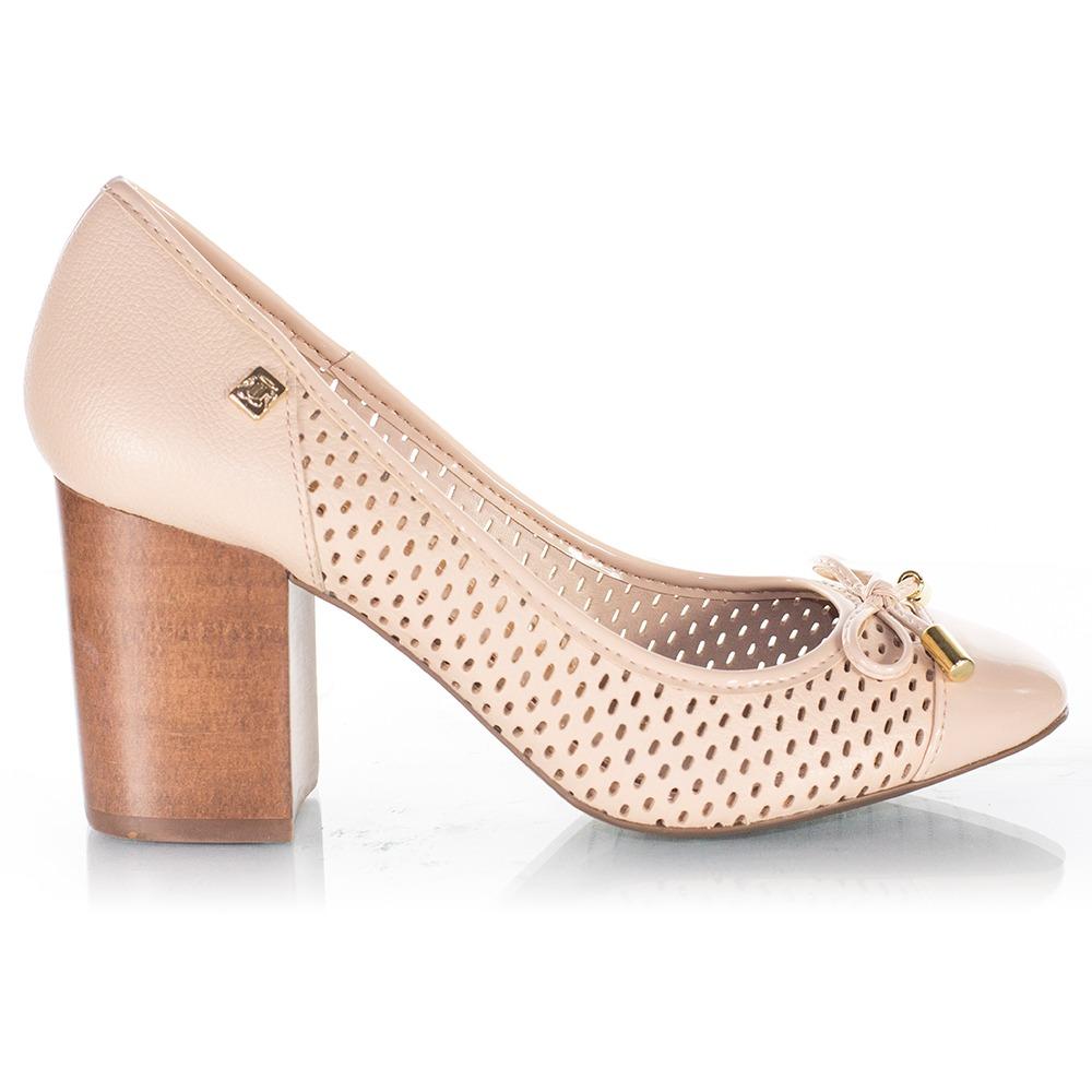 31130d692 Sapato Feminino Loucos E Santos Creme - R$ 169,00 em Mercado Livre