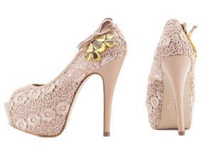 69ac5d0d9 Almofada Para Sapato Festa 15 Anos Peep Toe - Sapatos no Mercado ...