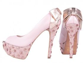 de0ee1e58 Sapato De Noiva Rosa Casamento - Sapatos em Rio de Janeiro no ...
