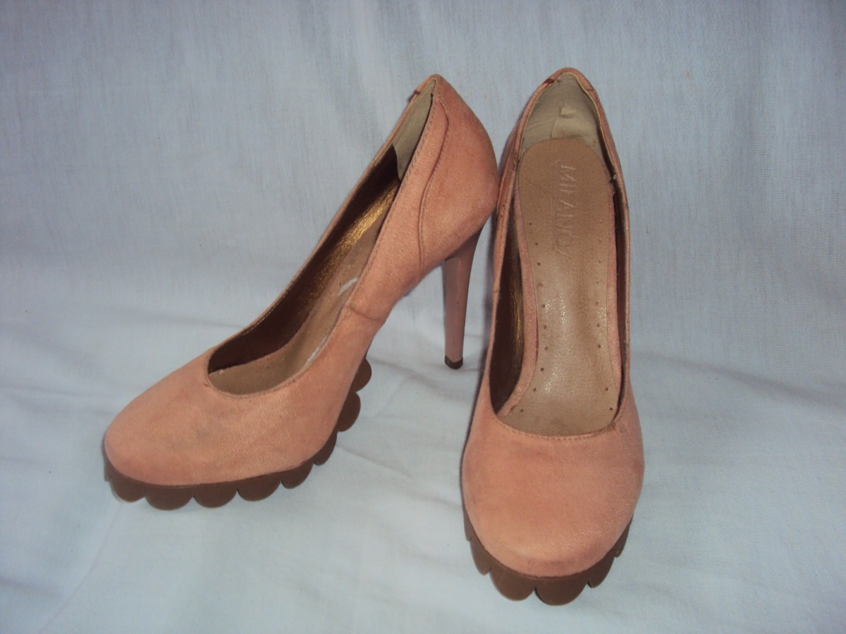 1ac290bf9 Sapato Feminino Milano Tamanho 35 - R$ 25,00 em Mercado Livre