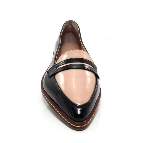 a011da98d Sapato Feminino Mocassim Bico Fino Mariotta 16190-71 - R$ 69,00 em ...