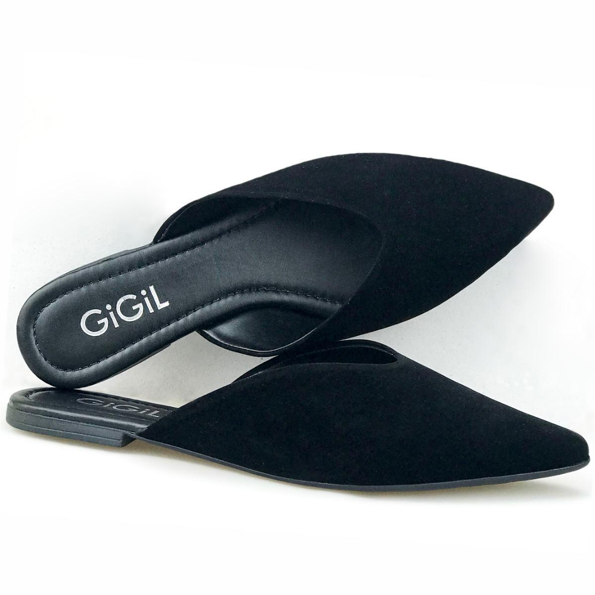c51707457f Sapato Feminino Mule Sapatilha Bico Fino Rasteirinha 2019 - R  34