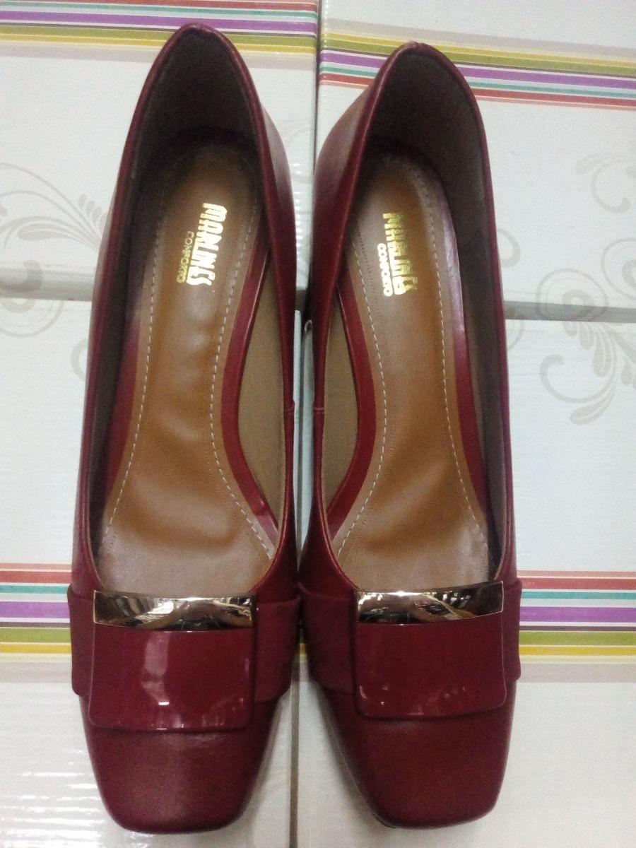 9b96e10cc4 sapato feminino numeros especiais vermelho 6771a-1190p. Carregando zoom.