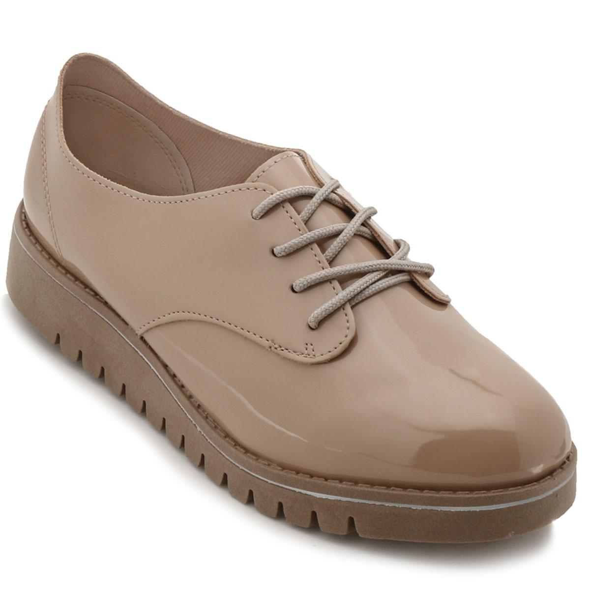 fca077770e sapato feminino oxford beira rio conforto bege - 4174419. Carregando zoom.