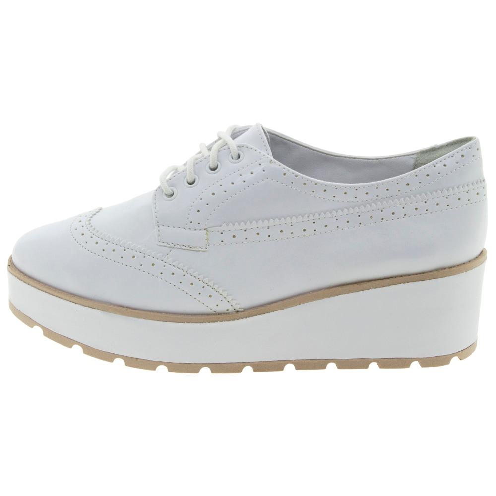 f9f93193e4 sapato feminino oxford branco ramarim - 1789101. Carregando zoom.