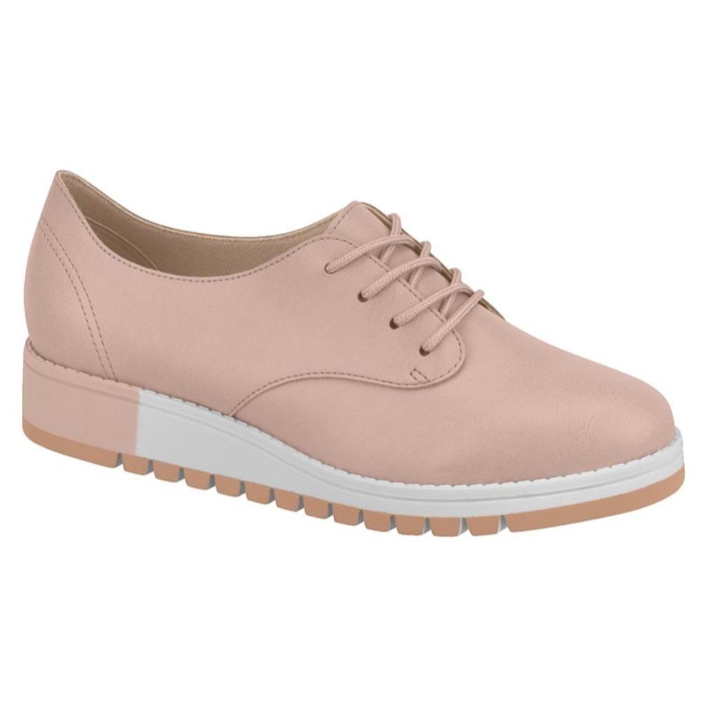 2dd99433f sapato feminino oxford rosa beira rio 4174.519. Carregando zoom.