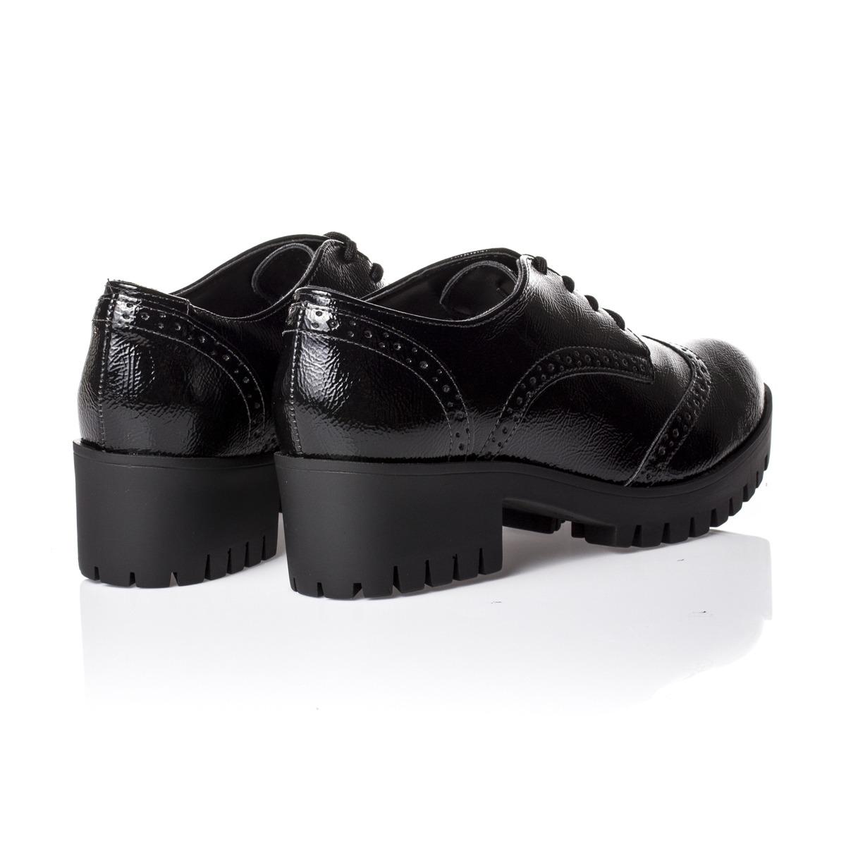 1f80d5864c sapato feminino oxford verniz tratorado via marte. Carregando zoom.