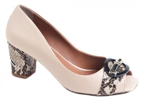 2526e5c5d Sapatos Femininos Saltos Medios Festa - Sapatos com o Melhores ...