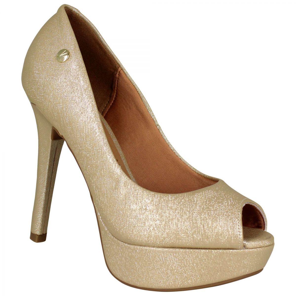 a8fb5052d sapato feminino peep toe scarpin vizzano meia pata 1830100. Carregando zoom.
