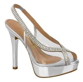 977f43f87 Peep Toe Prata Envelhecido 33 - Calçados, Roupas e Bolsas com o Melhores  Preços no Mercado Livre Brasil