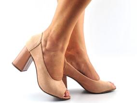 c126cd58a Scar[in Peep Toe Crossdresser Vizzano - Sapatos no Mercado Livre Brasil
