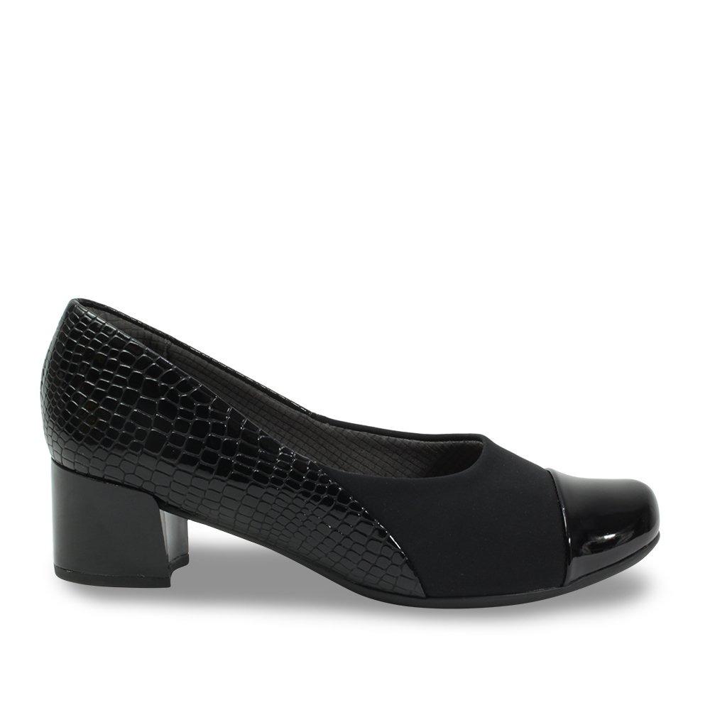 8c1481af6 sapato feminino piccadilly salto bloco 320259. Carregando zoom.