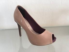 6a79217ac Salto Escapam Nude Feminino Ramarim - Sapatos com o Melhores Preços no  Mercado Livre Brasil