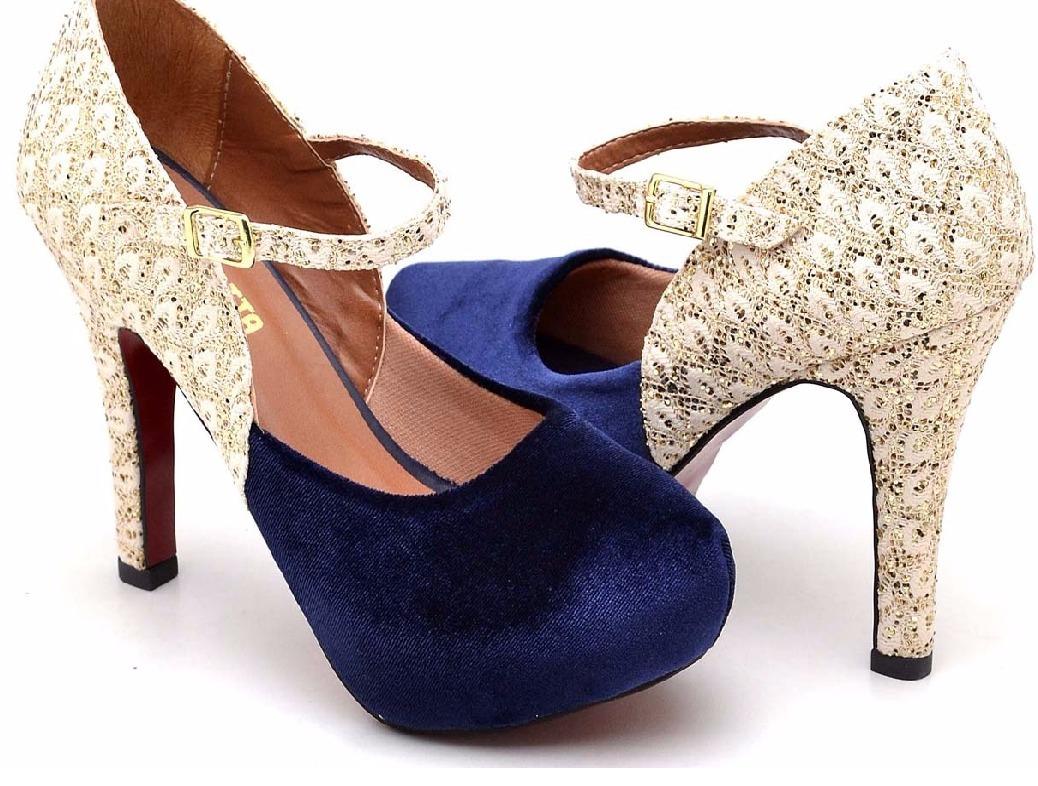 75ea7fe67d sapato feminino salto agulha 10cm tornozeleira social chique. Carregando  zoom.