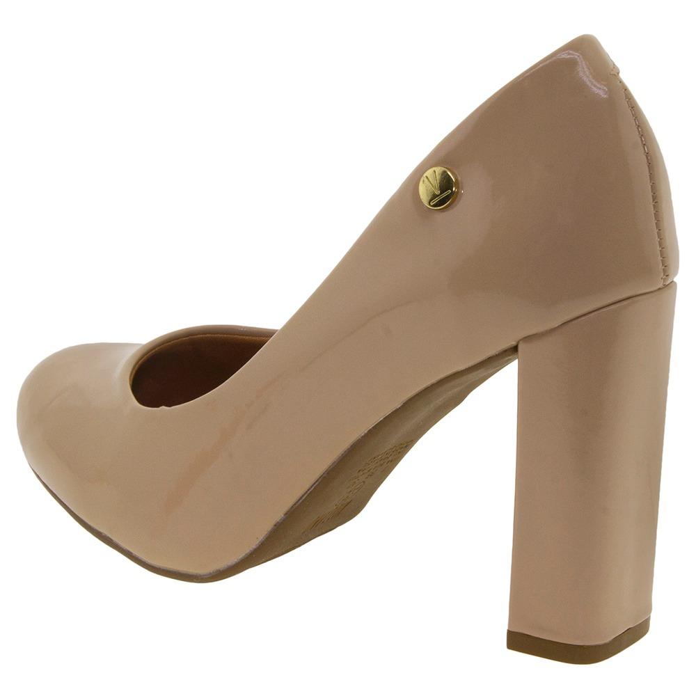 6eaba4608f sapato feminino salto alto bege vizzano - 1260100. Carregando zoom.