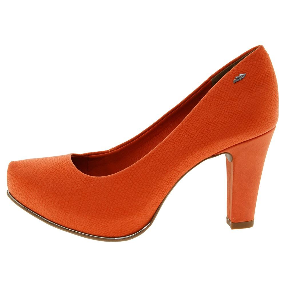 d0d619a334 sapato feminino salto alto laranja dakota - b7891. Carregando zoom.