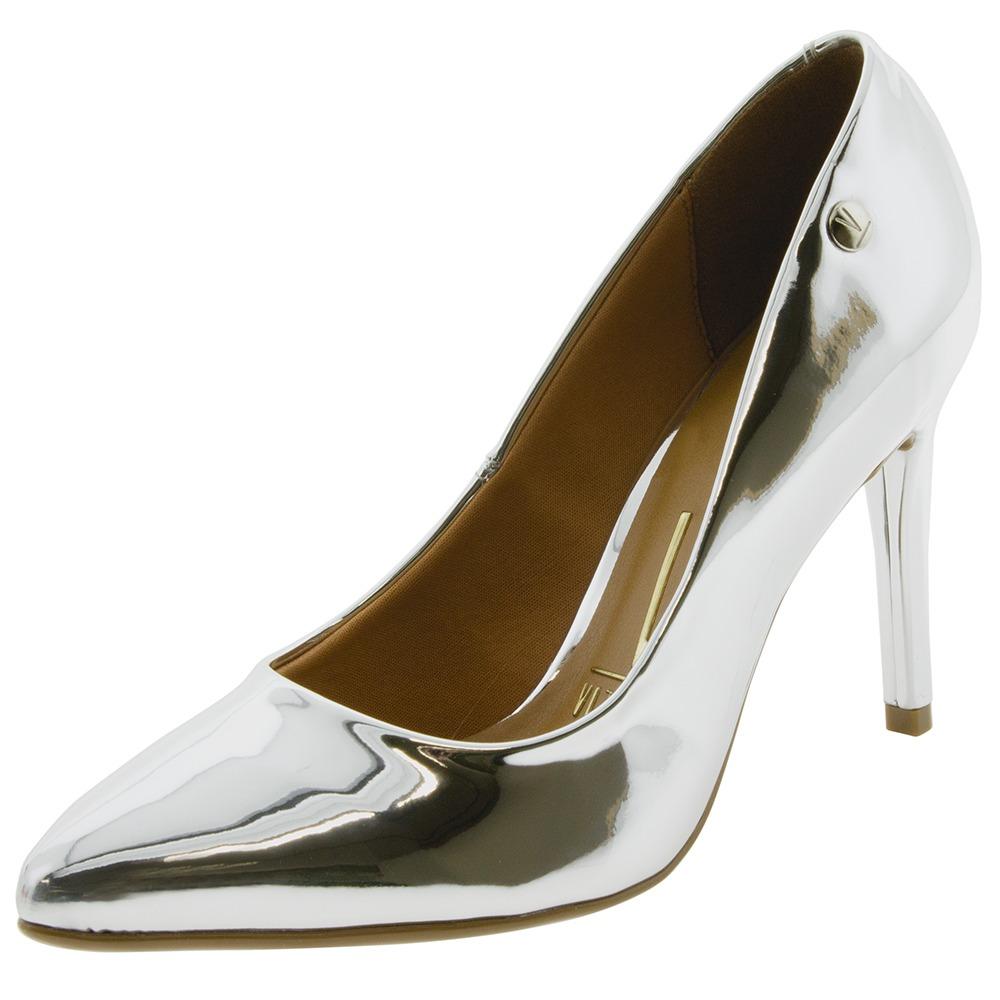 6cfbebfeb sapato feminino salto alto prata vizzano - 1235100. Carregando zoom.