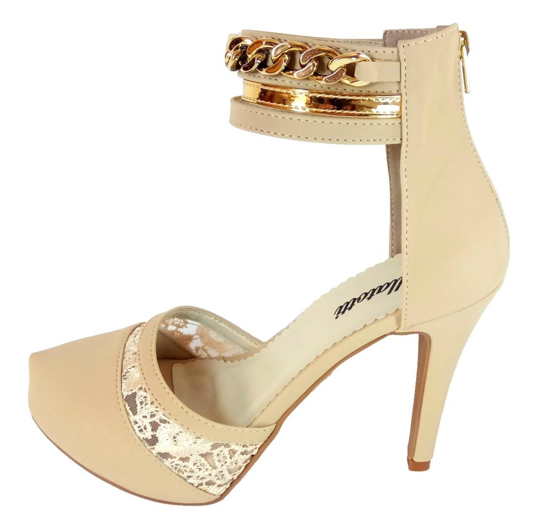 8368bf6c0 sapato feminino salto alto scarpin festas sandália linda. Carregando zoom.