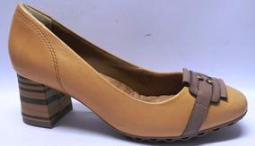 53bbc18156 Sapato Feminino Salto Grosso Baixo Retro 1594102