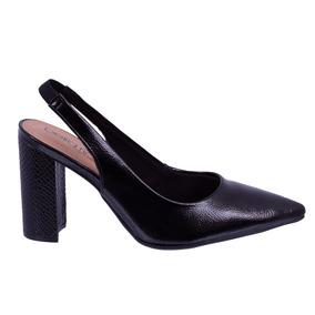 d8b3107812 Sapato Salto Com Correntinha Feminino Anabela Beira Rio - Sapatos no ...