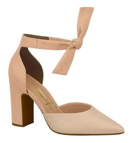 00407ea13 Sapato Feminino Scarpin Vizzano Laço Cetim 0441934 Clovis - Calçados ...