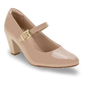 Sapato Feminino Salto Médio Boneca Modare Ultraconforto