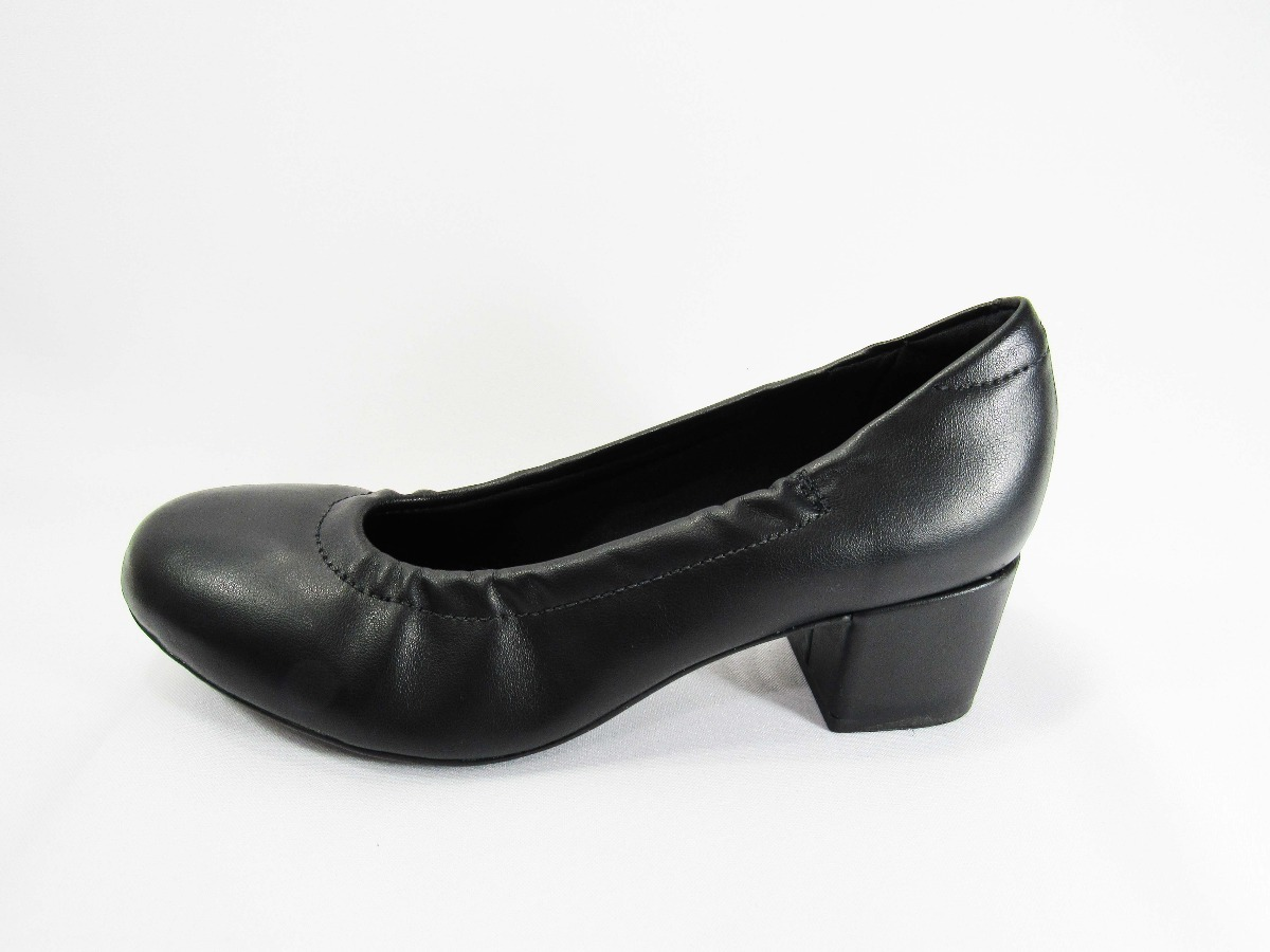 6b49f92caa sapato feminino salto quadrado social ultra conforto modare. Carregando  zoom.