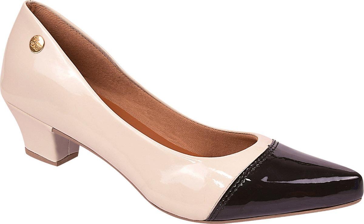 904b24ff77 Sapato Feminino Scarpin Bico Fino Salto Alto Ref  36.005.236 - R  49 ...